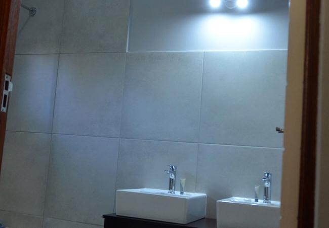 Room 1 Walk-In Shower