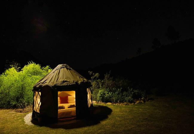 Malachite Yurt Camp