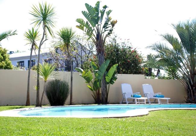 The communal pool