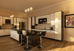 Three Bedroom House - Kitchen Area