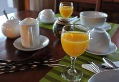 Breakfast at Marula Lodge
