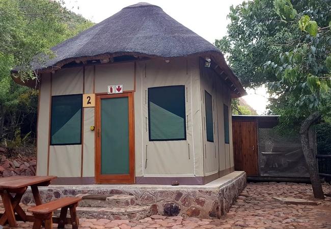 Safari Tent self-catering