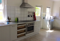 Large separate kitchen