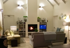 Living room on cool days