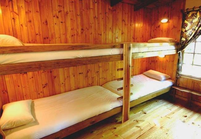 Vervet Forest Cabin 2nd bedroom