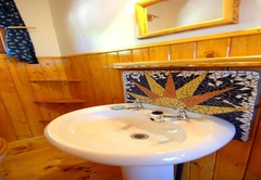 Vervet Forest Cabin mosaic detail