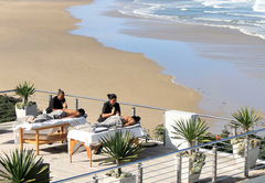 Massage at the Milkwood Spa