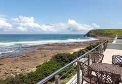 Our Sea Facing rooms have balconies with panoramic coastal views