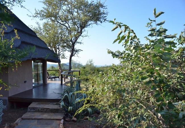 Bush Villa Entrance