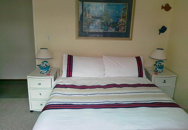 Cozy Cove bedroom