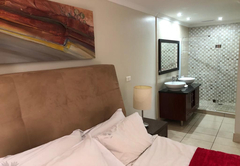 main bedroom with suite