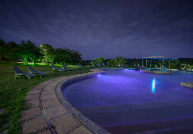 Pool View  - Evening
