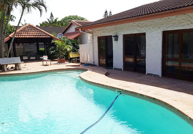 Swimming pool and entertainment area