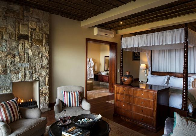 Lodge Suite - Sitting area