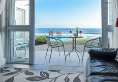 View of Albatross patio