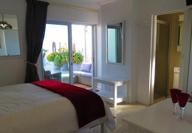 Seabreeze unit patio area