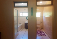 Room 2 share shower/bath