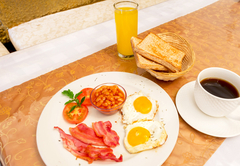 Breakfast at OR Tambo Guest House