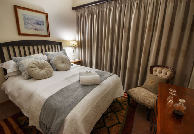 Equally inviting is the second bedroom