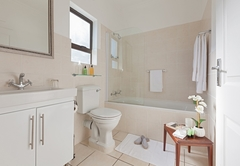 Frangipani bathroom