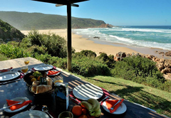 Braai / BBQ Area with views