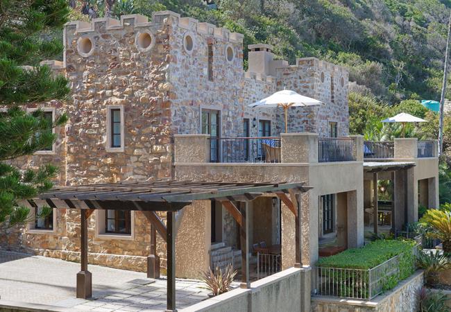 Honeymoon suite patio