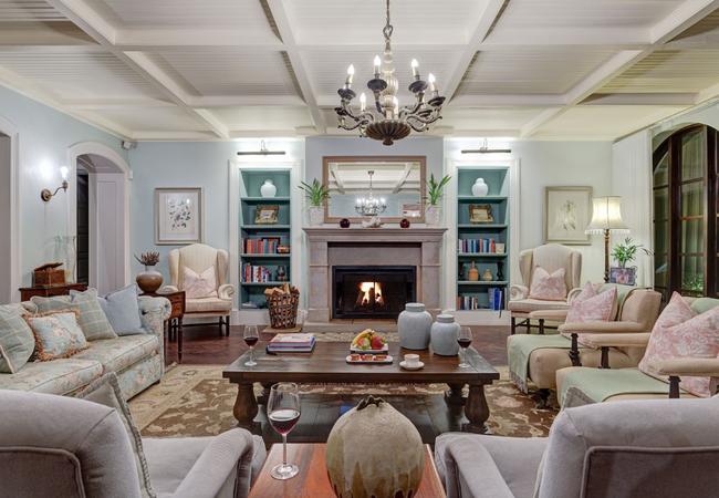Honeymoon castle patio