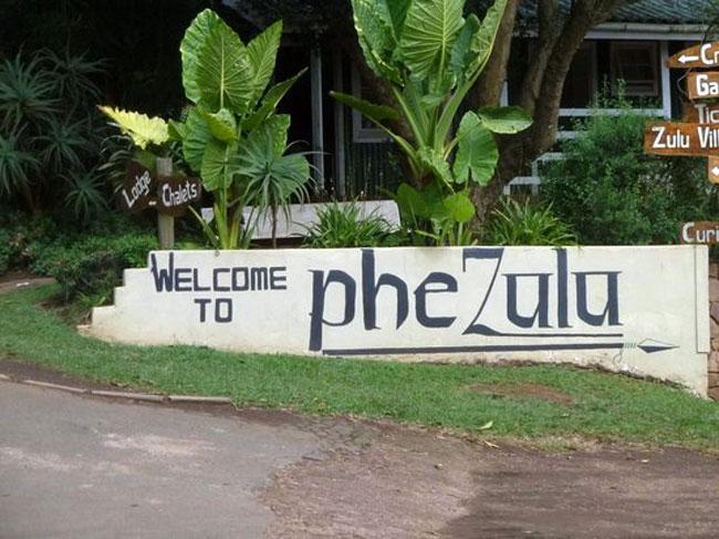 PheZulu Safari Park in Bothas Hill, Durban