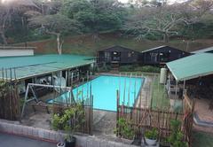 Communal Braai and Pool Area