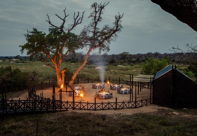 Event set-up Outdoor Boma