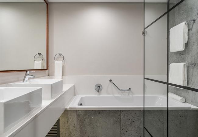 Larger Guest bathroom