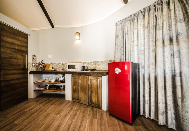 Kasteelberg Cottage - Kitchen