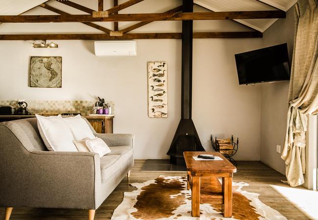 Perdeberg Cottage - Lounge Area