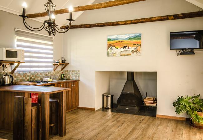 Winterhoek Cottage - Kitchen Area