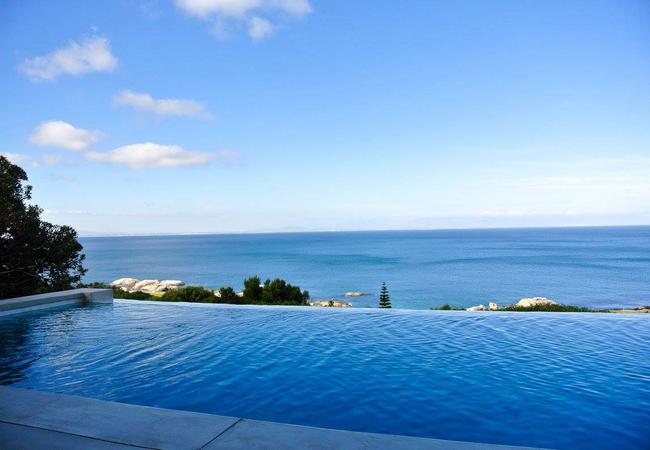 The Views and the pool