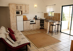 Kitchen/lounge in chalets