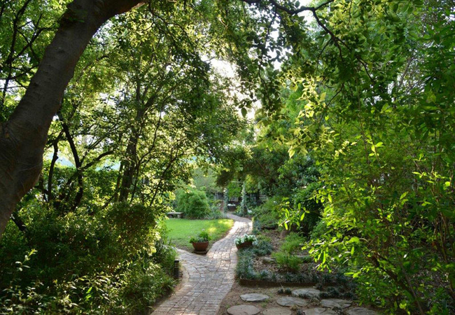 Lovely gardens and pathways