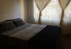 Basic double bedroom