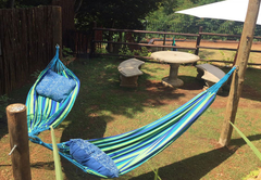 Outside Area with Hammocks