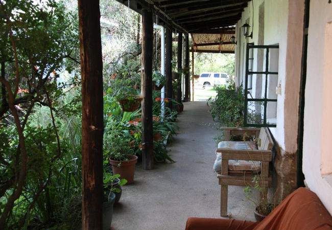 Standard room verandah