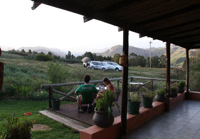 Lodge verandah