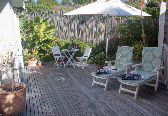 Pansy shell private deck