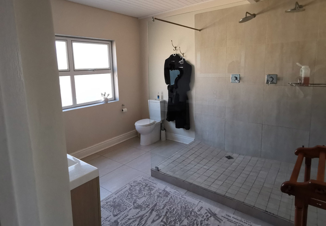 Periwinkle bathroom