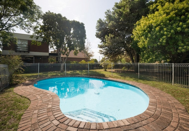 Enclosed Fenced in Pool