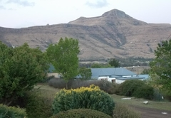 Horeb mountain view from