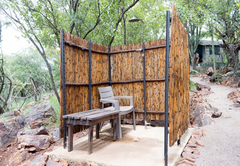 Tent communal Shower