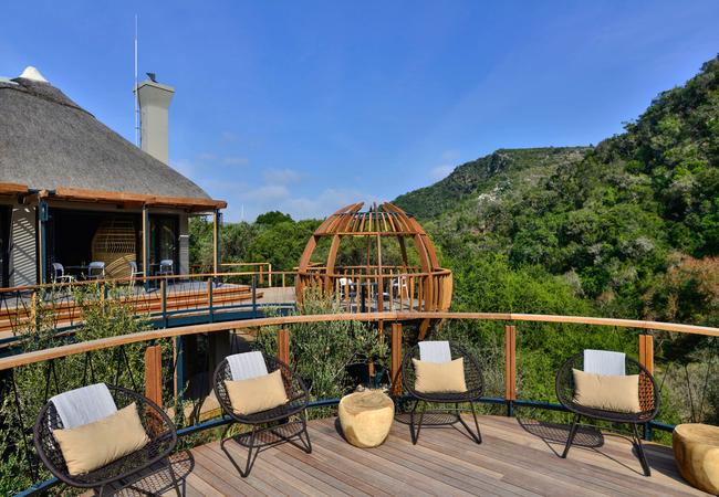 Eagles Crag Main Lodge Deck