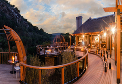 Eagles Crag Main Lodge Deck
