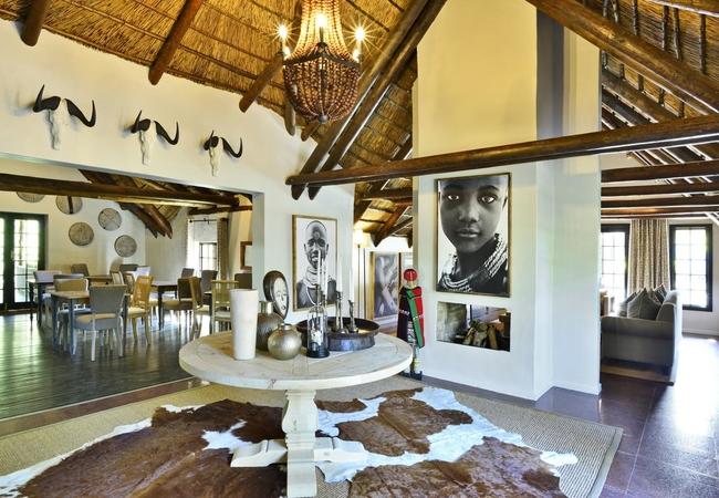 Lobengula Main Lodge Lobby