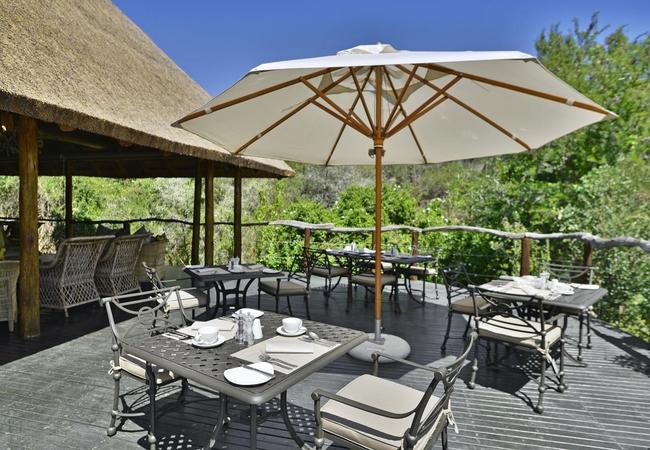 Lobengula Outside Dining